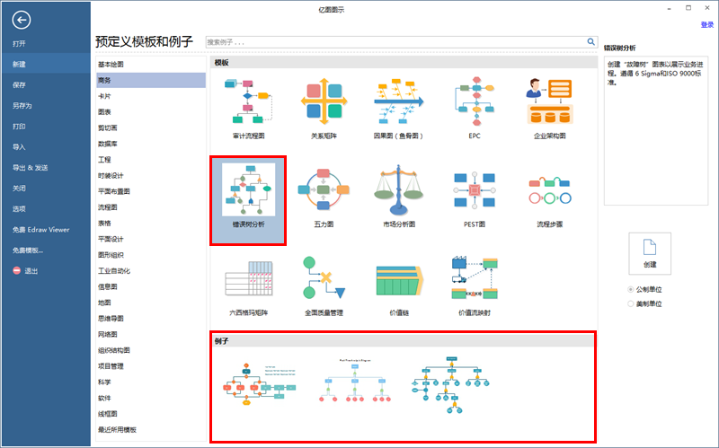 故障树分析图制作软件