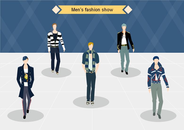 时装设计效果图