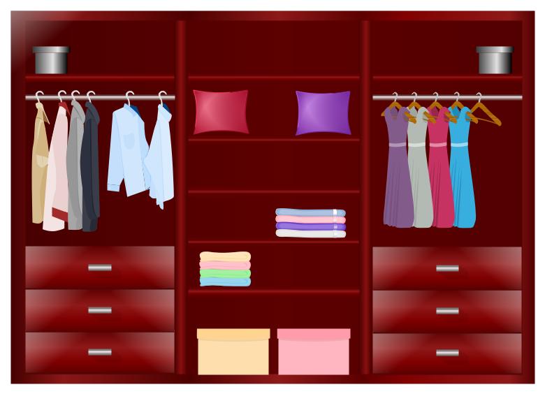 亿图图示衣柜设计