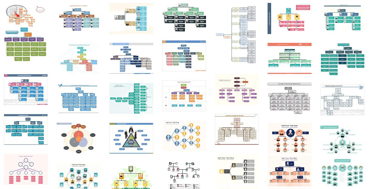 组织架构图实例
