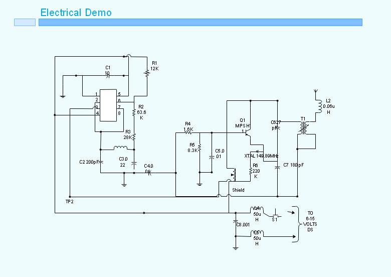 电路示意图,电路板图
