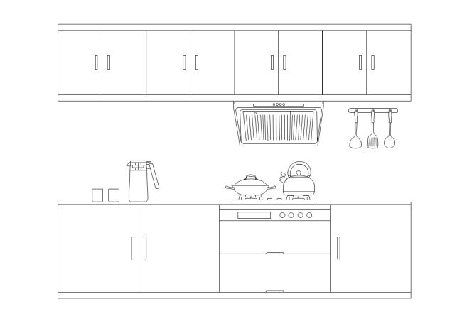 打造您的私人专属厨房立面图