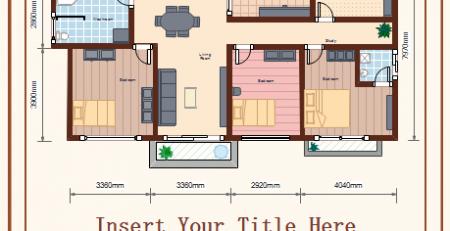 建筑平面布置图例子