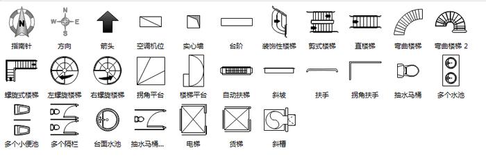 symbols for floorplan