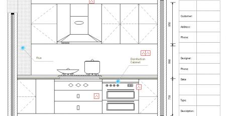 厨房里立面图例子