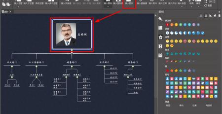 MindMaster绘制组织架构图