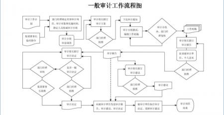 财务审计流程图