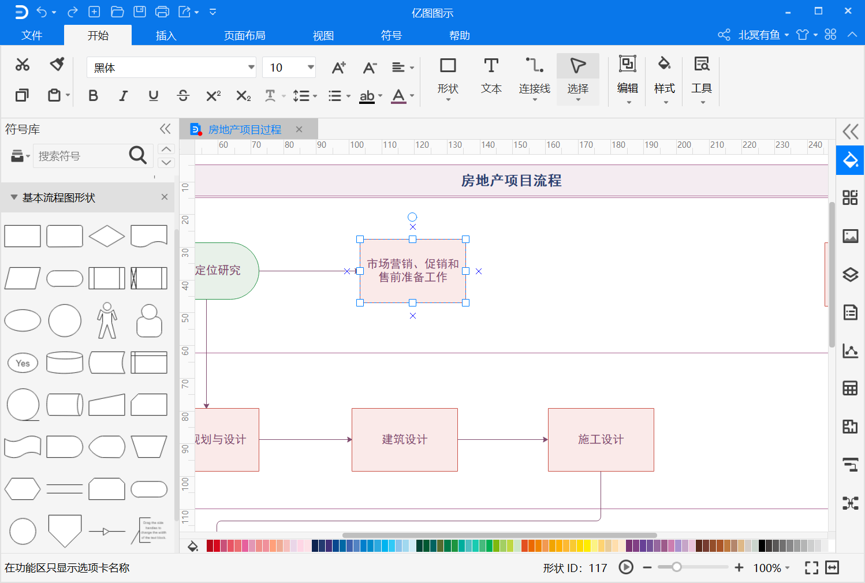 过程流程图文本