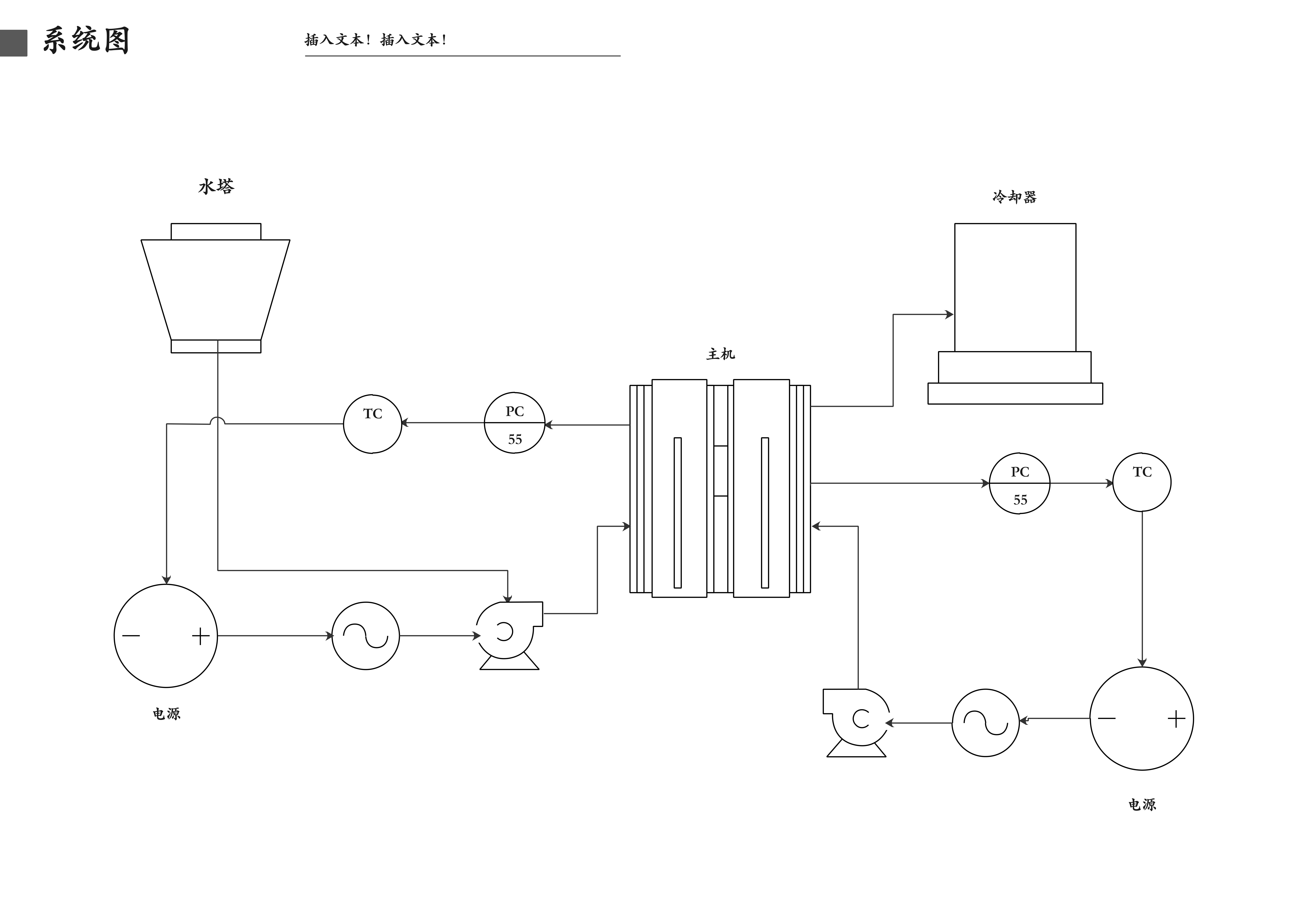 系统图图示