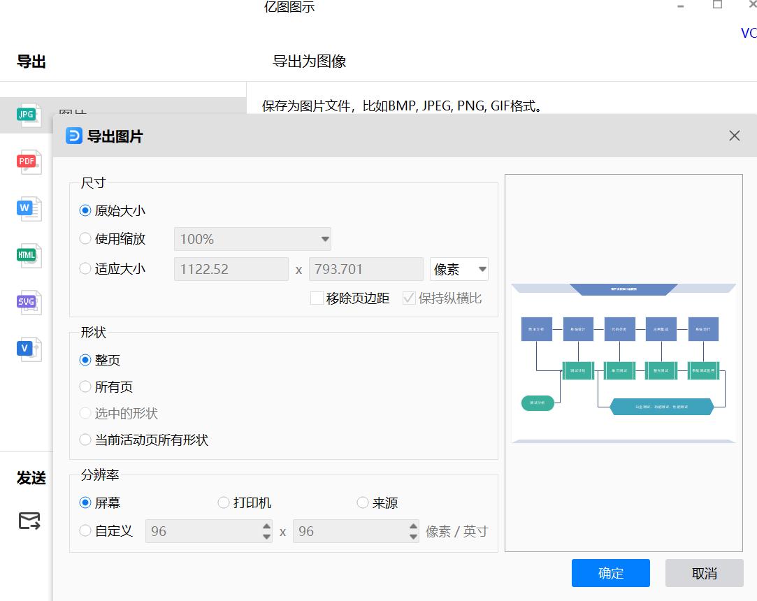 项目流程图保存