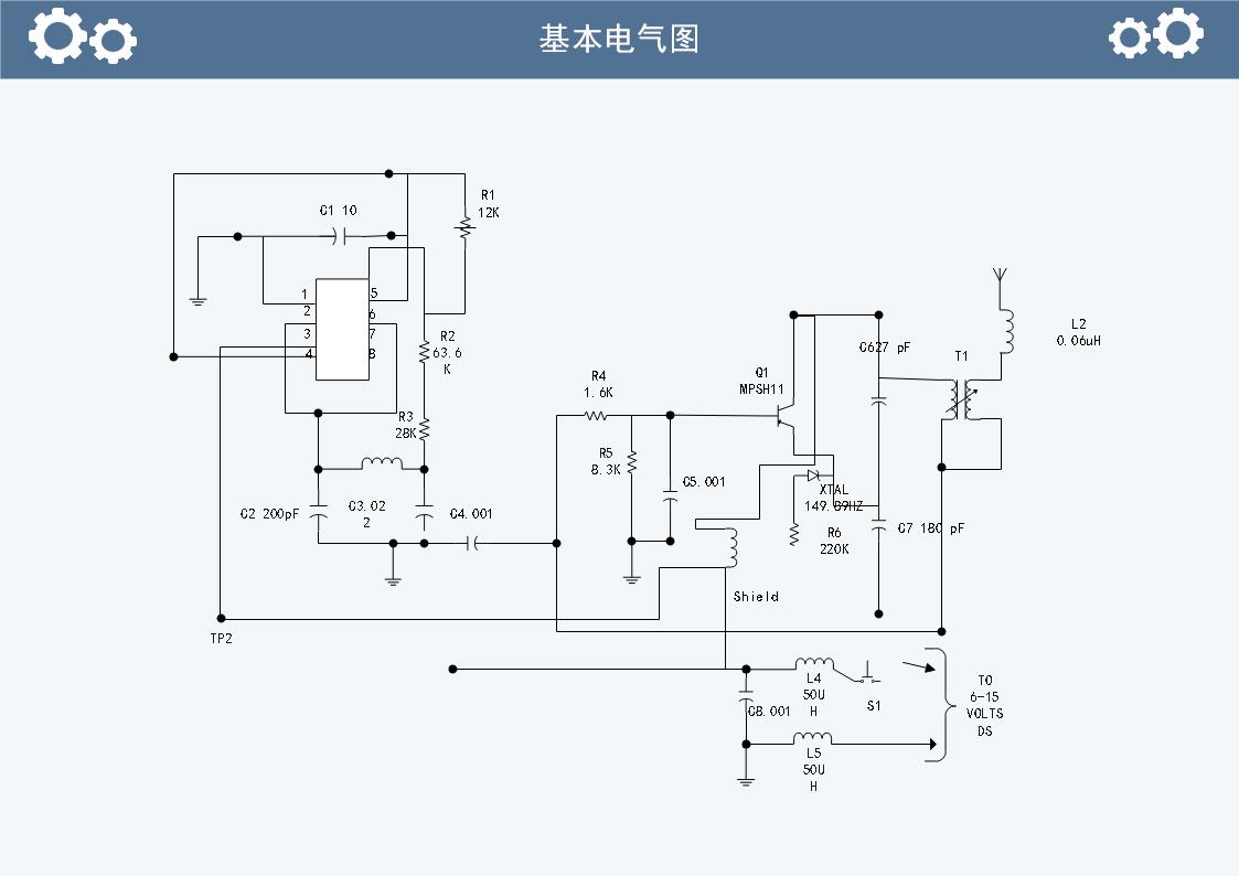 电气图例子