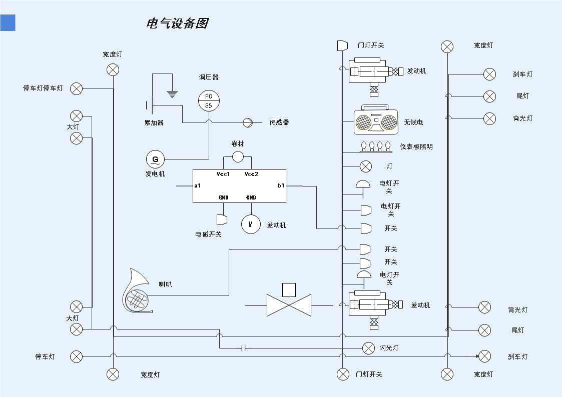 电气图例图