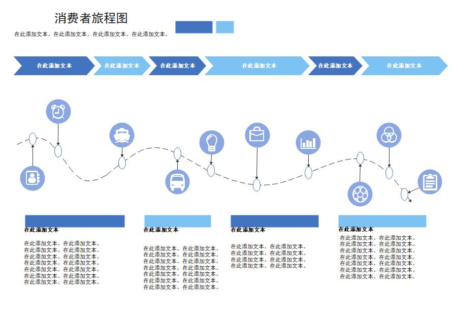 消费者旅程图示图
