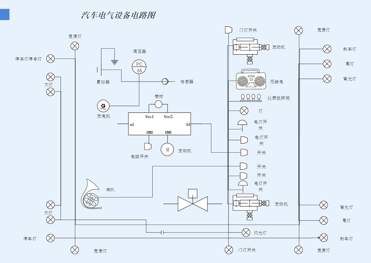 系统图示图
