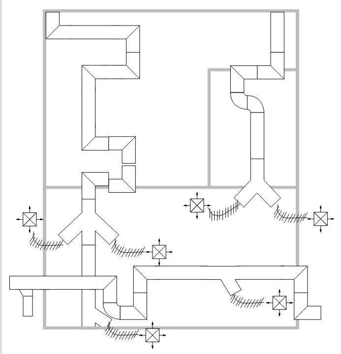 暖气空调平面图